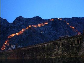 Kotor at night